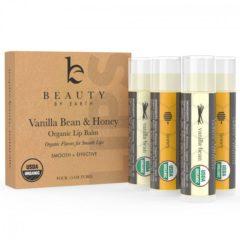 Organic Honey And Vanilla Bean Lip Balm